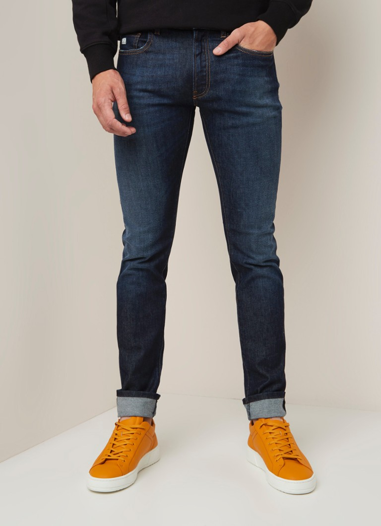 C.P. Company - Slim fit jeans met donkere wassing - Indigo