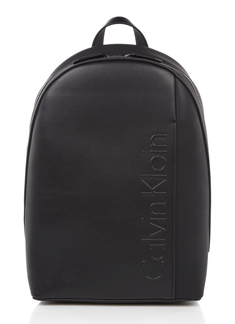 1aec4465674 Calvin Klein Elevated Logo Rugtas Met 13 Inch Laptopvak De Bijenkorf