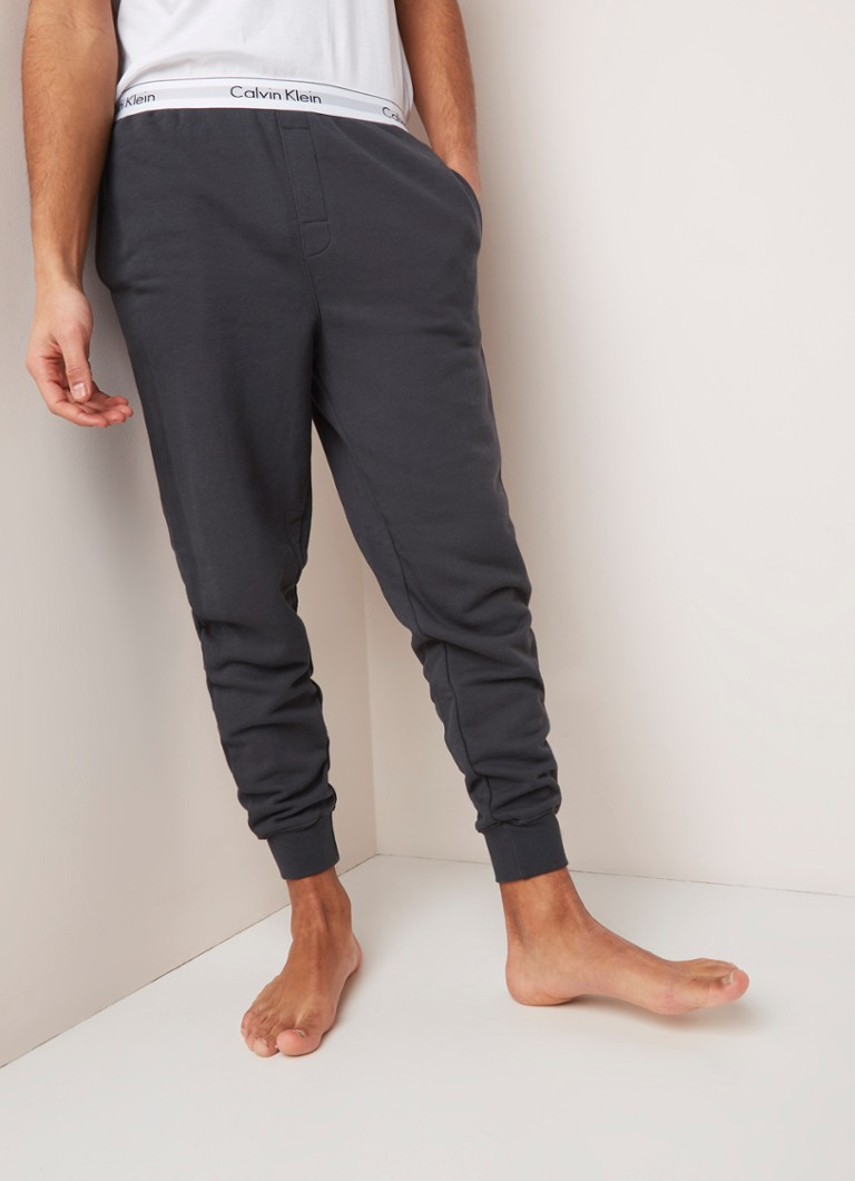 69a7ebc5c05 Calvin Klein Modern Cotton pyjamabroek met logoband • de Bijenkorf