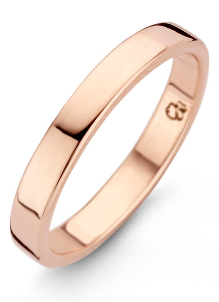 Casa Jewelry - Straight ring verguld - Roségoud
