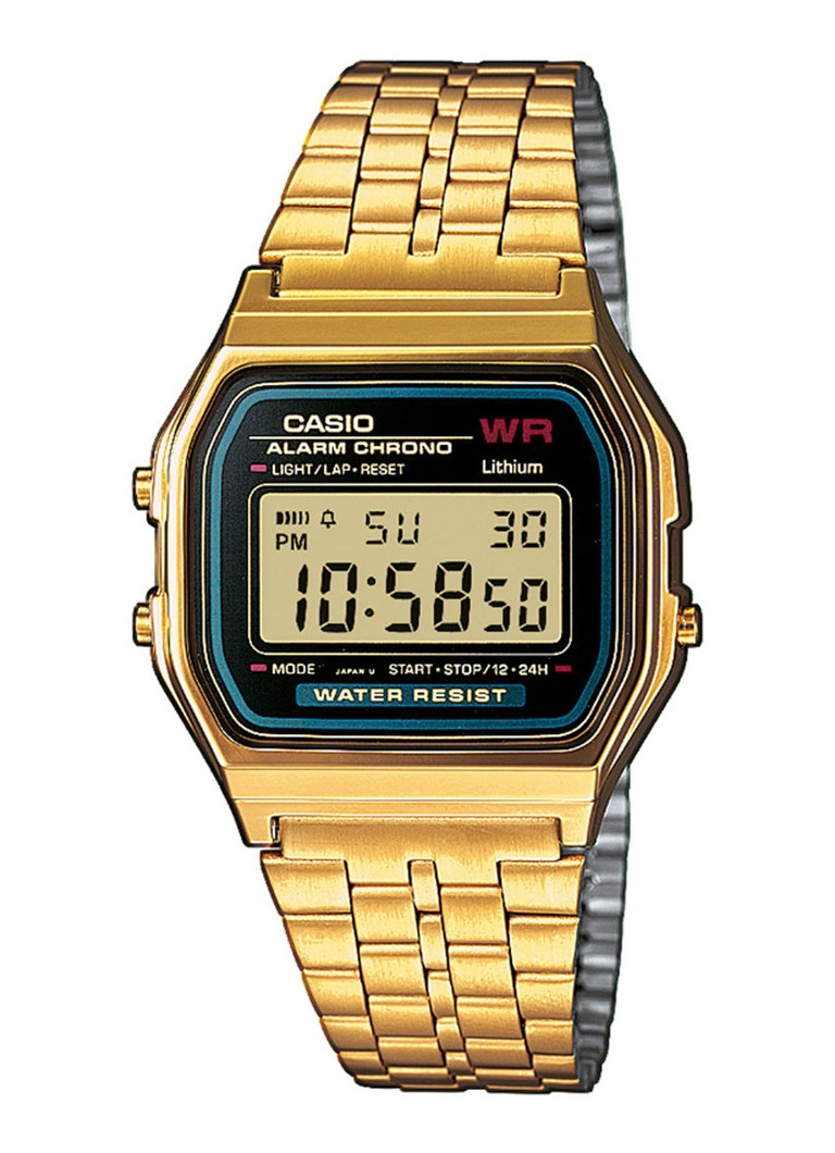 Casio - Casio Horloge Retro A159WGEA-1EF - Yes
