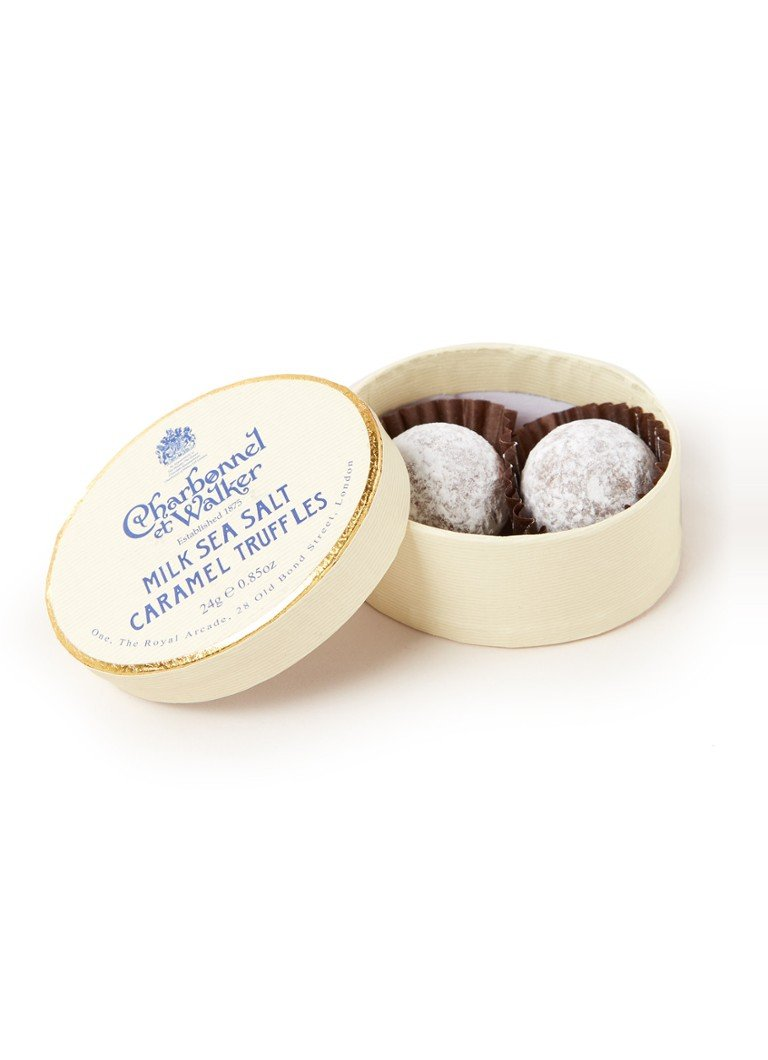 Charbonnel et Walker - Milk Sea Salt Caramel truffels 2 stuks - null