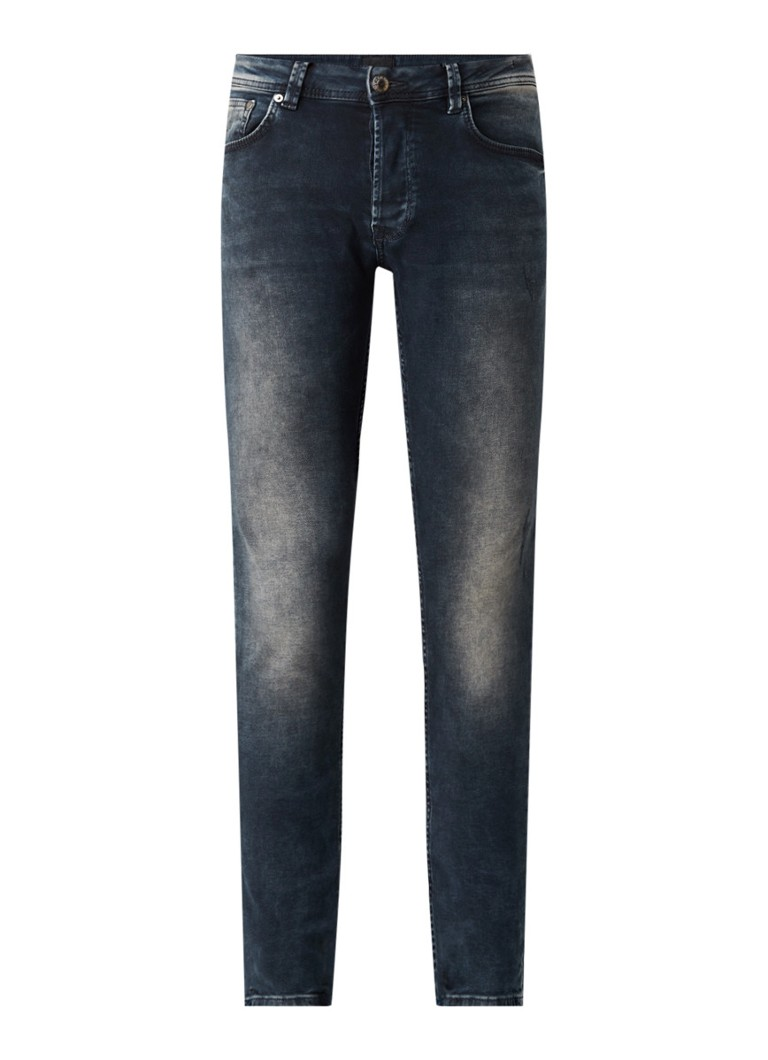 CHASIN' - Ego Raven slim fit jeans met stretch - Indigo