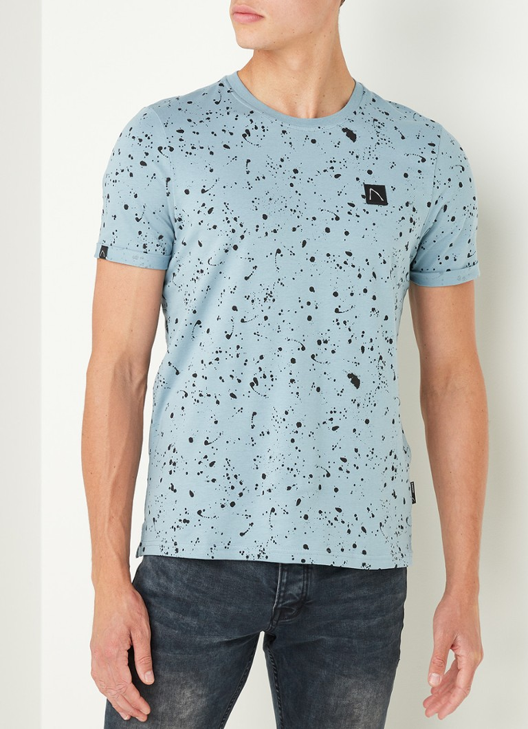 CHASIN' - Leo T-shirt met all over print - Mint