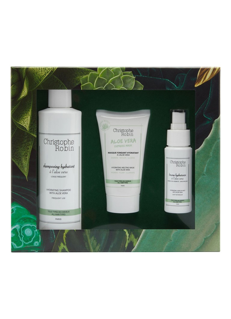 Christophe Robin - Hydrating Gift Set - Limited Edition haarverzorgingsset -