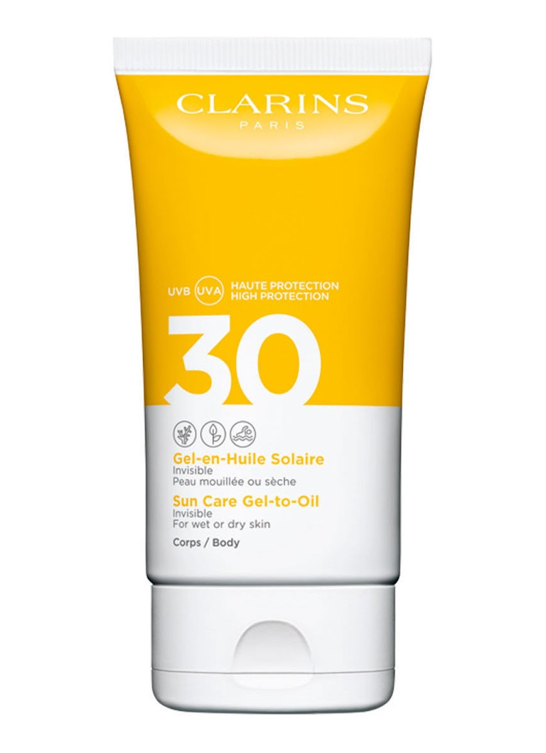Clarins - Gel-to-Oil Invisible SUn Care SPF30 Body - zonnebrand -