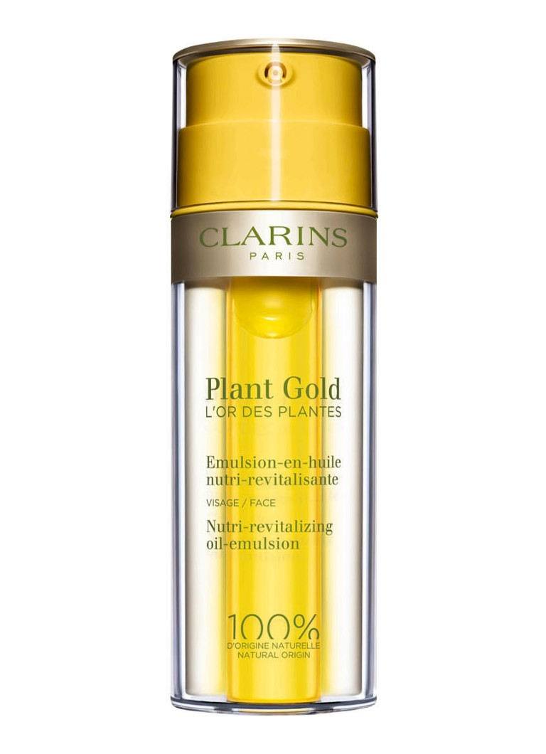 Clarins - Plant Gold Nutri-revitalizing oil-emulsion - gezichtsolie - null