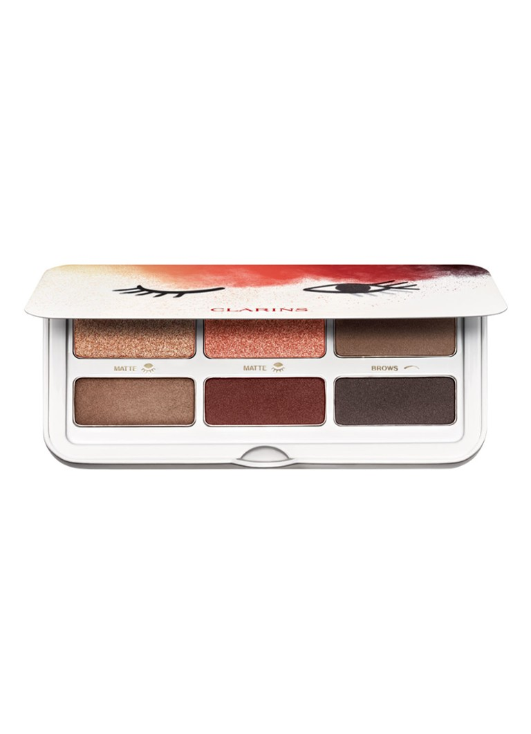 Clarins - Ready in a Flash Palette - Limited Edition oogschaduw palette - null