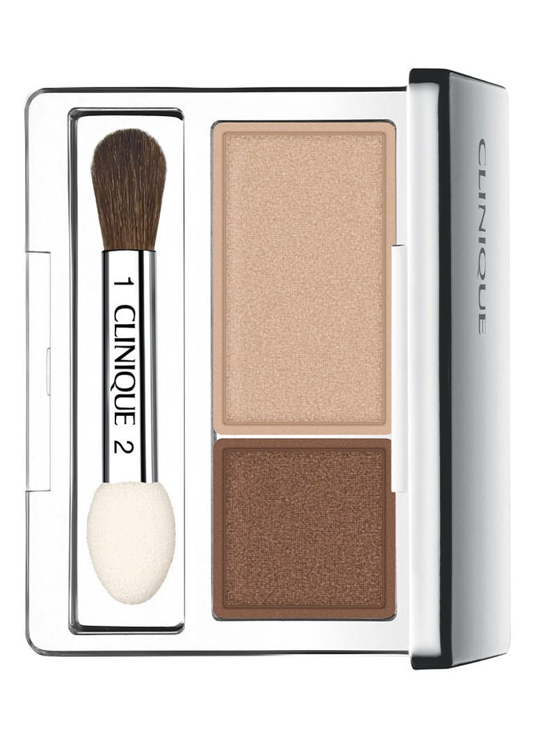 Clinique - All About Shadow Duo - oogschaduw - Like Mink