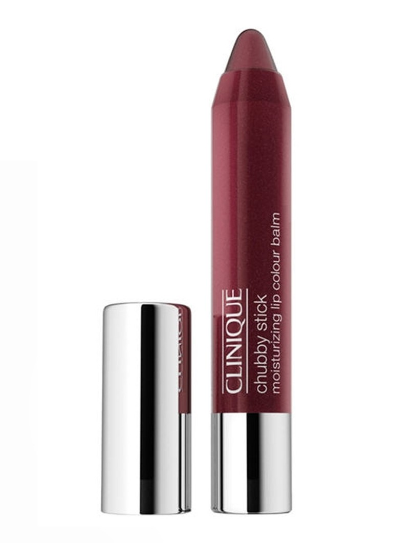 Clinique - Chubby Stick Intense Moisturizing Lip Colour Balm - getinte lipbalsem - Heftiest Hibiscus
