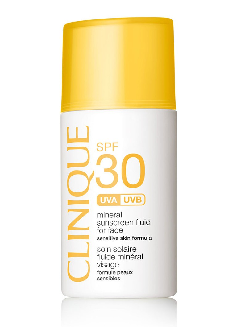 Clinique - Mineral Sunscreen Fluid for Face SPF 30 - zonnebrand - null