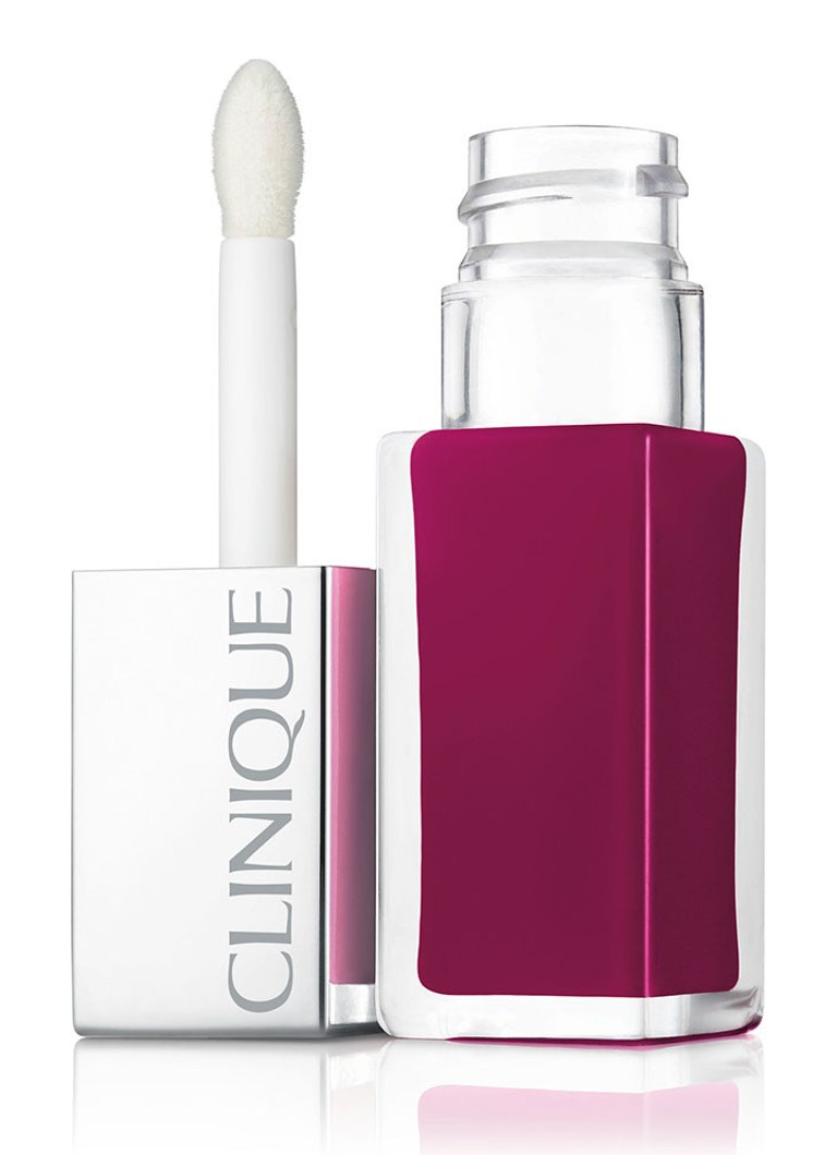 Clinique - Pop Lacquer Lip Colour + Primer - liquid lipstick - Peace Pop
