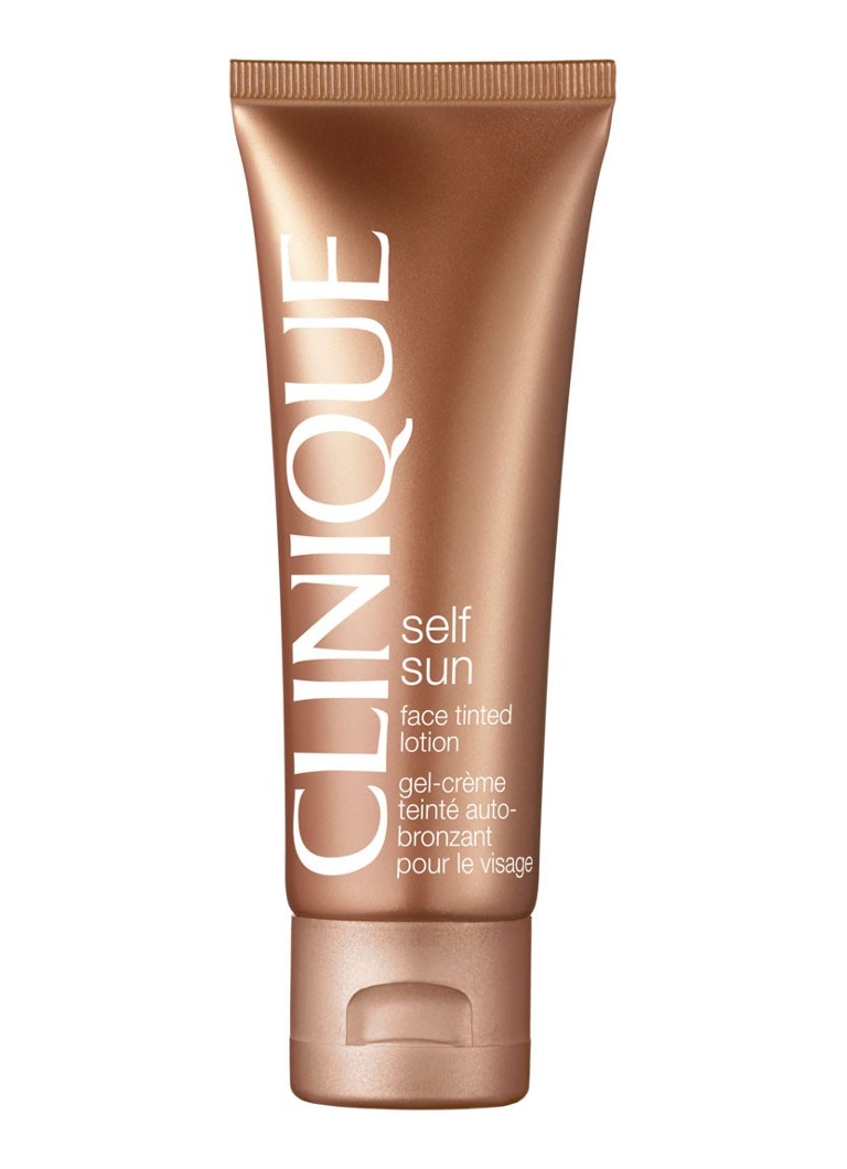 Clinique - Self Sun Face Tinted Lotion - zelfbruiner -