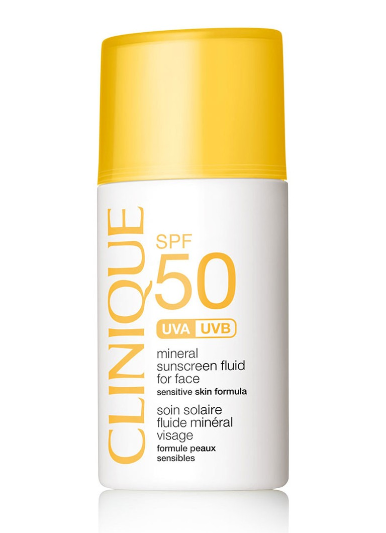 Clinique - SPF 50 Mineral Sunscreen Fluid for Face - zonnebrand gezicht - null