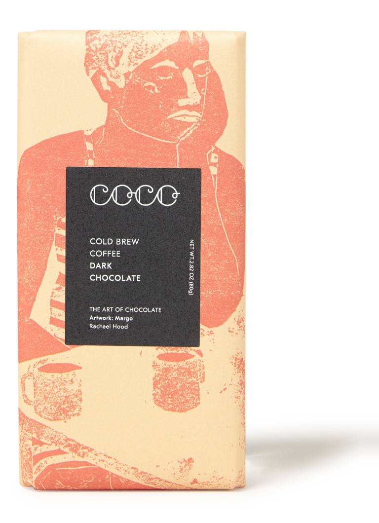 Coco Chocolatier - Cold Brew donkere chocolade 80 gram -