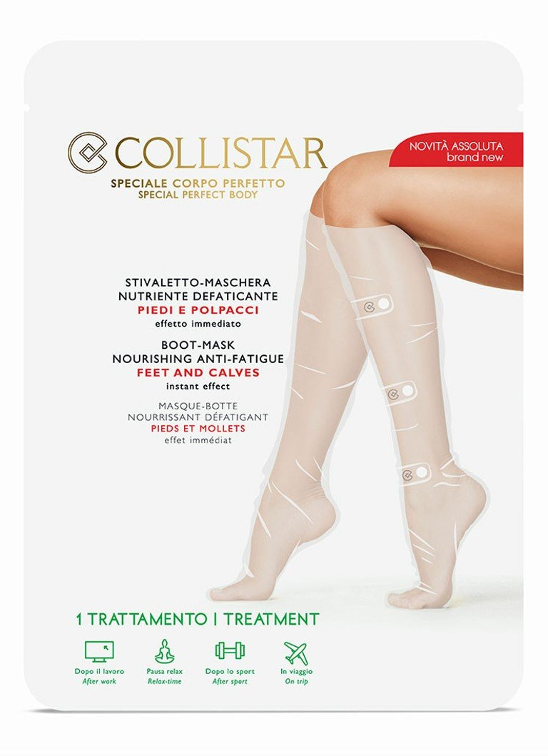 Collistar - Boot-Mask Nourishing Anti-Fatique Feet and Calves - voet- & kuitmasker -