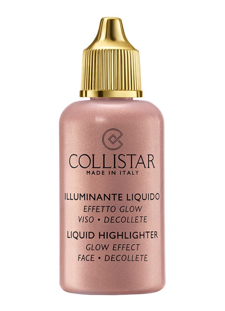 Collistar - Liquid Highlighter Glow Effect Face - Limited Edition vloeibare highlighter - 3 Bronze Pearl