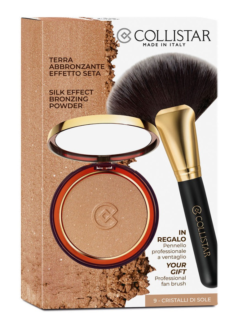 Collistar - Silk Effect Bronzing Powder met waaierpenseel - Limited Edition make-upset - null