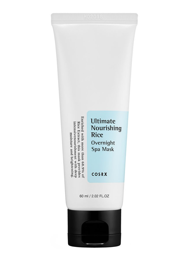 COSRX - COSRX Ultimate Nourishing Rice Overnight Spa Mask - gezichtsmasker - null