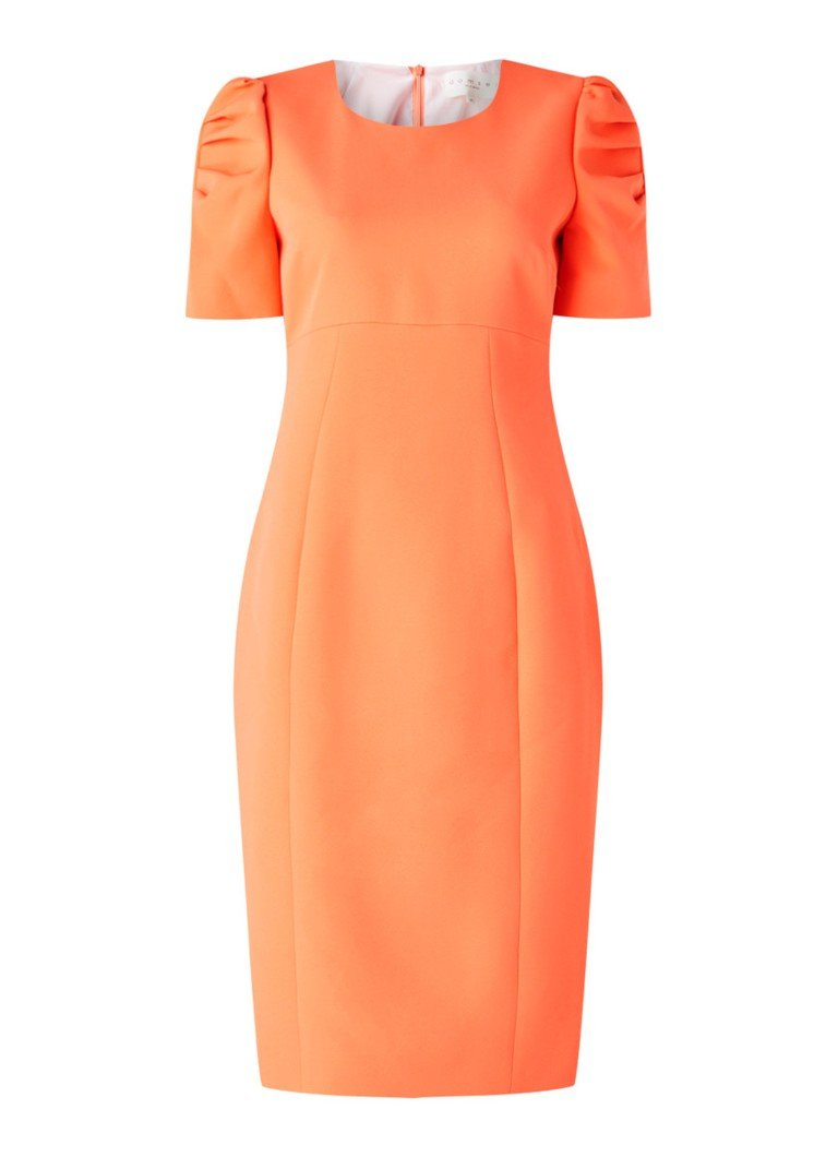 Damsel in a Dress - Ella-Mai Fitted Drs Coral 08 - Koraal