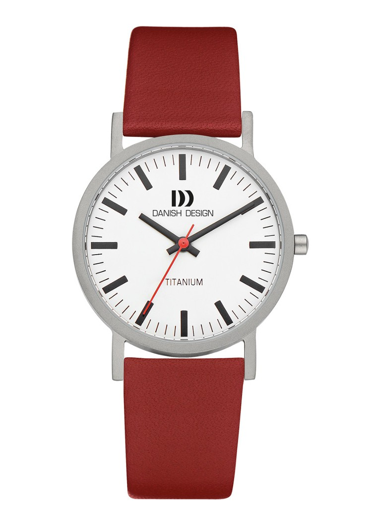 Danish Design - Rhine Medium horloge IQ19Q199 - Zilver