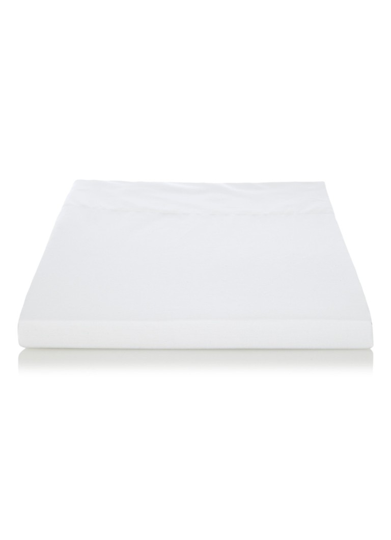 de Bijenkorf Home - Cool Cotton laken van biologisch katoen 200TC - Wit