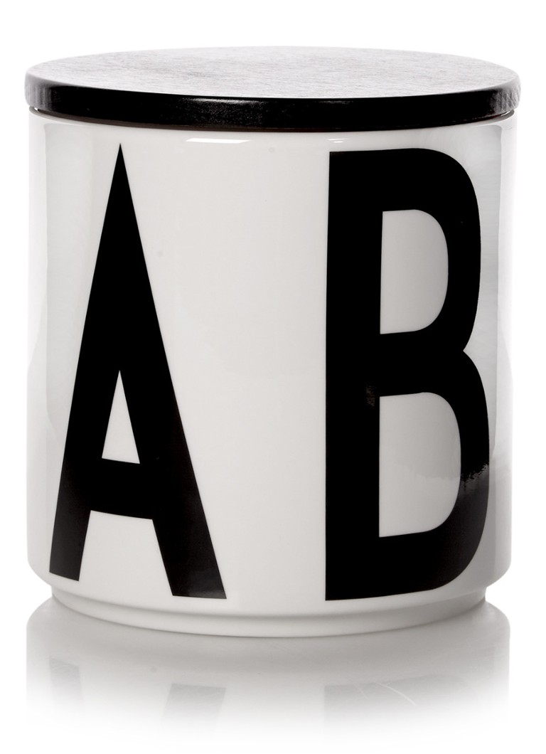 design letters arne jacobsen opbergpot a t m e de bijenkorf. Black Bedroom Furniture Sets. Home Design Ideas