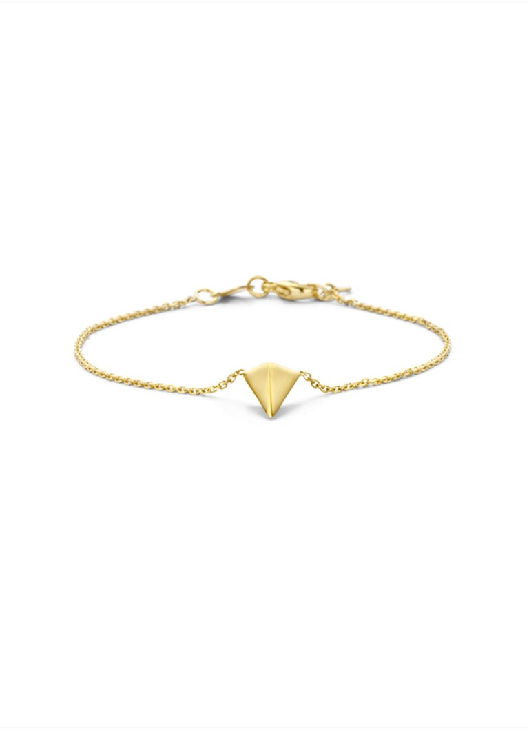 Diamond Point - Geelgouden armband Marigold - Goud