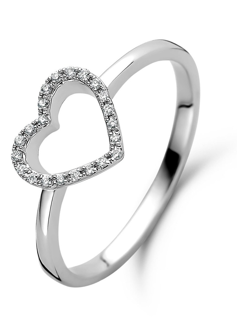 Diamond Point - Witgouden ring 0.06 ct diamant Dreamer - Witgoud