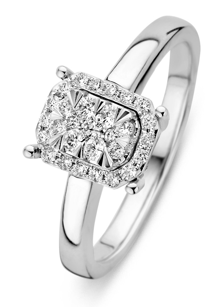 Diamond Point - Witgouden ring 0.28 ct diamant Enchanted - Witgoud