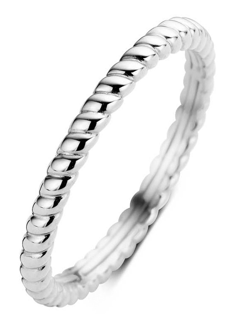 Diamond Point - Witgouden ring Ensemble - Witgoud