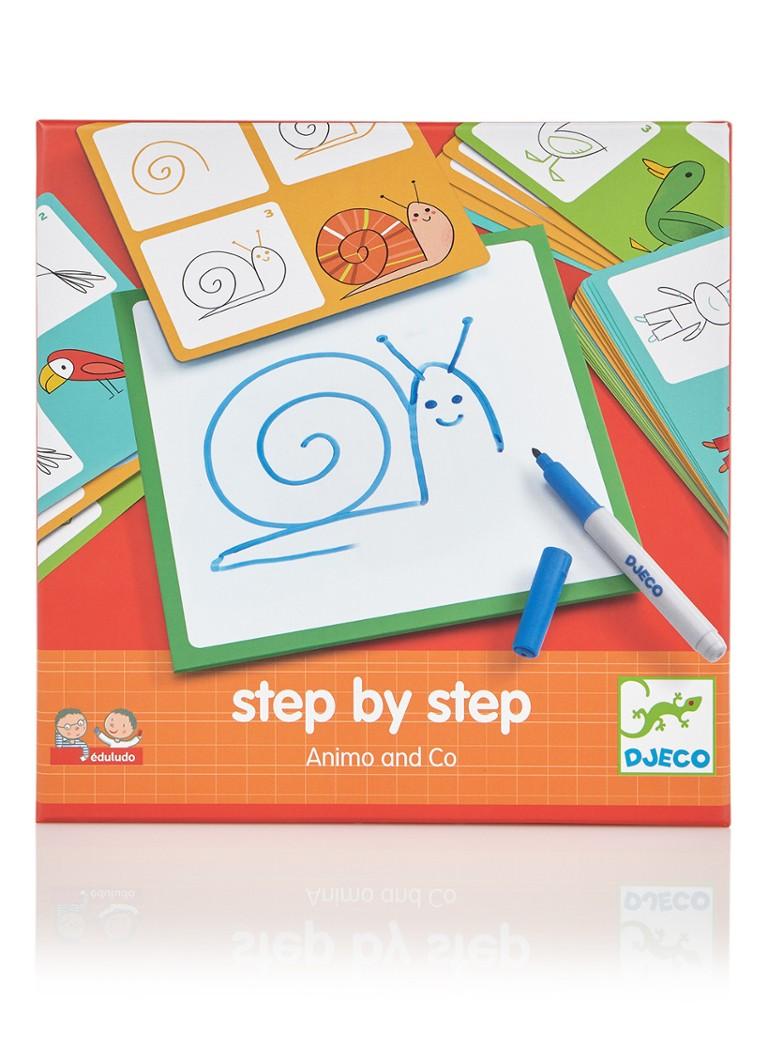 Djeco stap voor stap leren tekenen Dieren