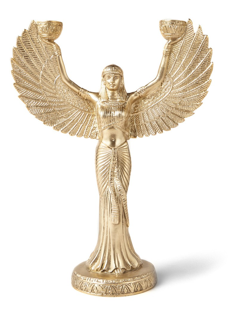 Doing Goods - Phoenix kandelaar 30 cm - Goud