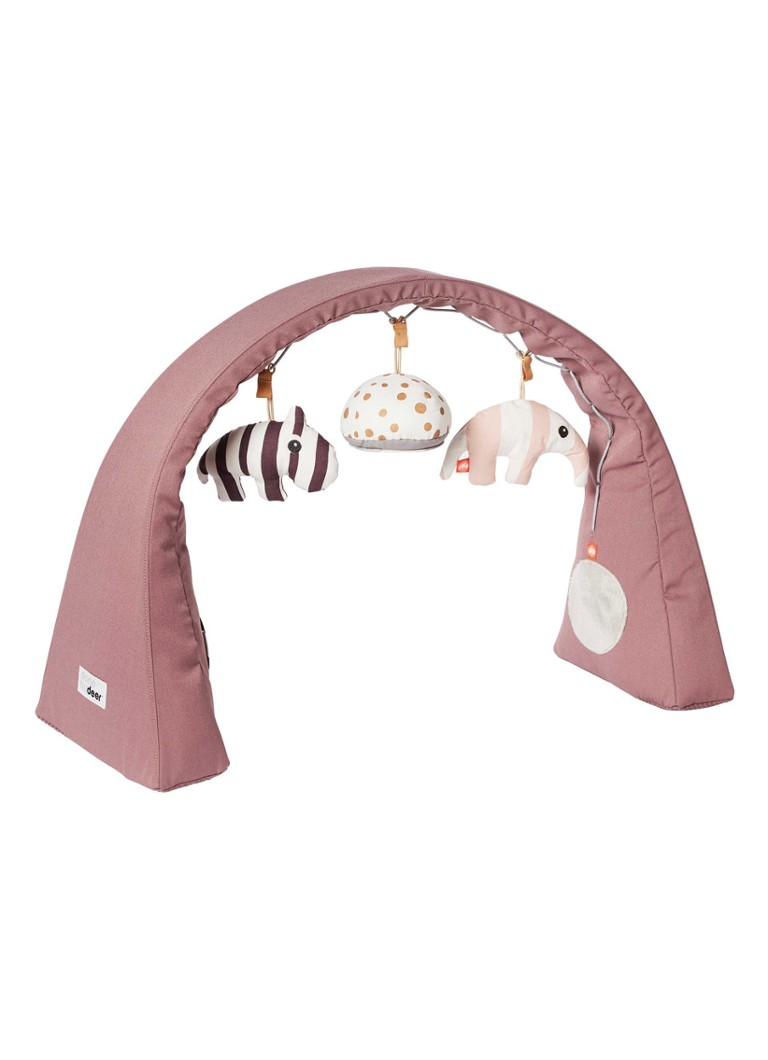 Done by Deer - Activity baby gym speelgoed - Oudroze