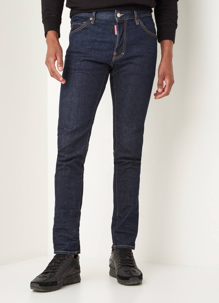 Dsquared2 - Cool Guy skinny fit jeans met donkere wassing - Indigo