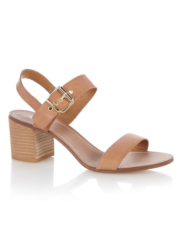 new style e7657 6c555 Dune London Jany sandalette van leer • de Bijenkorf