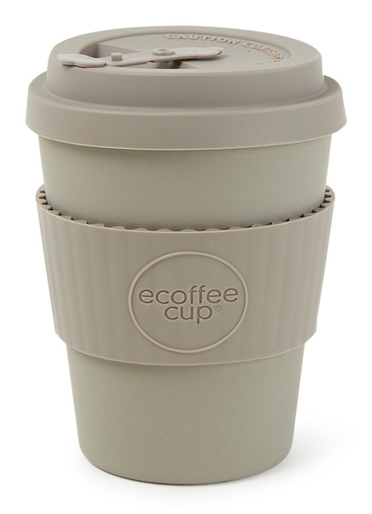 Ecoffee Cup - Molto Grigio koffiebeker 340 ml - Taupe