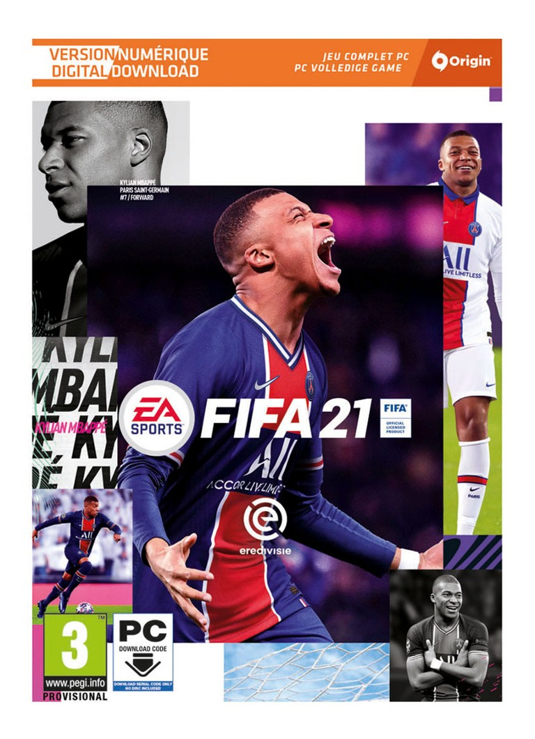 Electronic Arts - FIFA 21 (Code in a Box) Game - PC - null