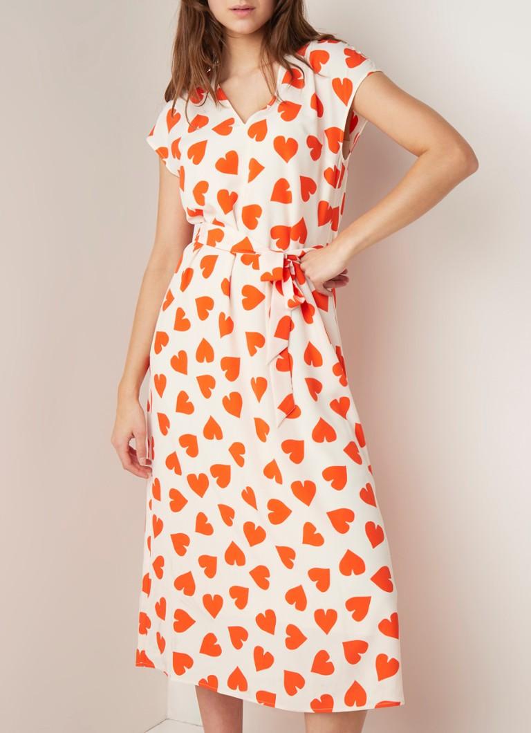 16df4234f37289 ESSENTIEL ANTWERP Sultan maxi-jurk met hartendessin • de Bijenkorf