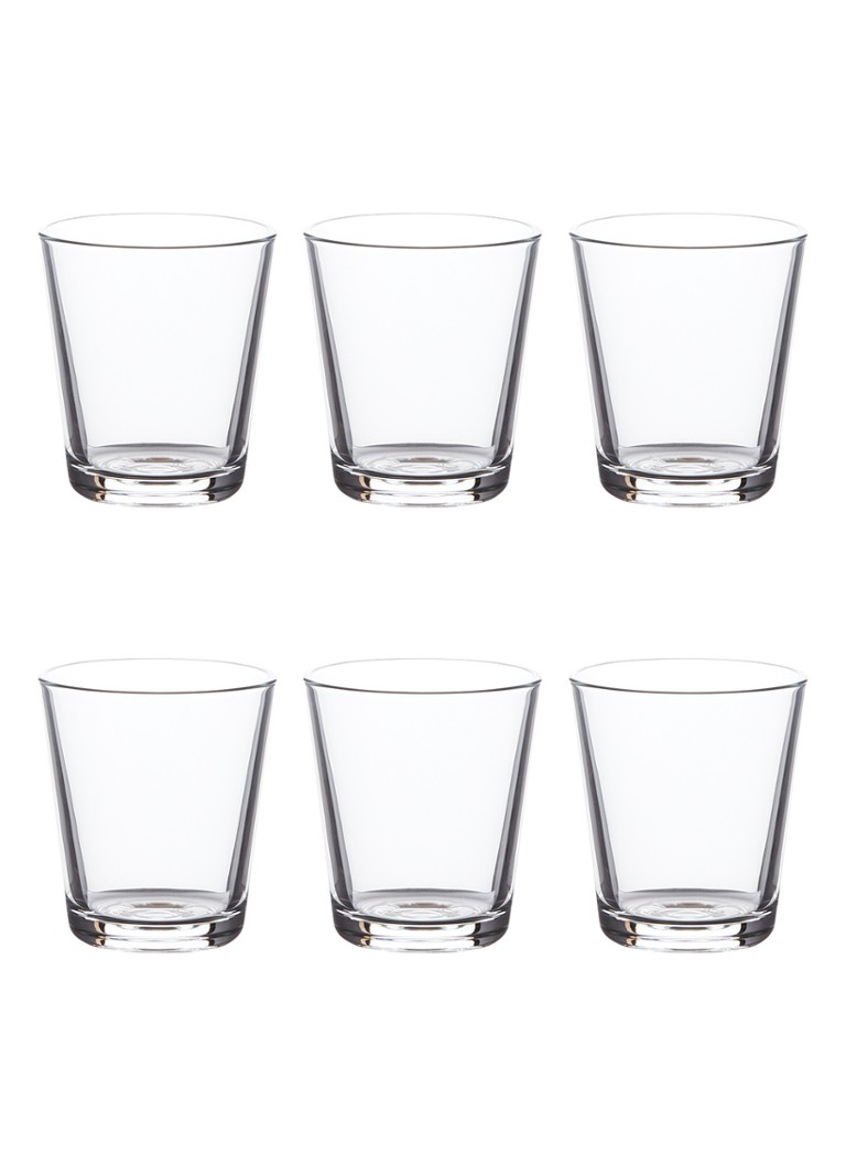 Eva Solo - Drinkglas 25 cl set van 6 - Transparant