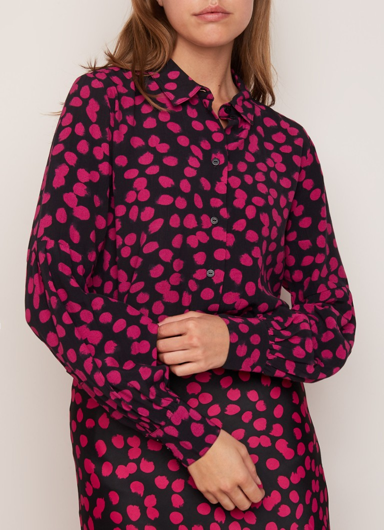 Donna Blouse Met Stippendessin  by Fabienne Chapot