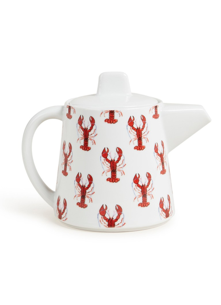 Fabienne Chapot - Lobster theepot 45 cl - Rood