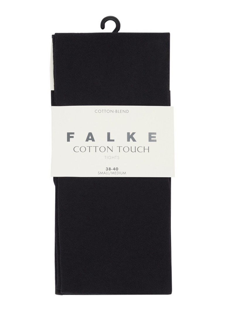 Falke - Cotton Touch legging zwart - Zwart