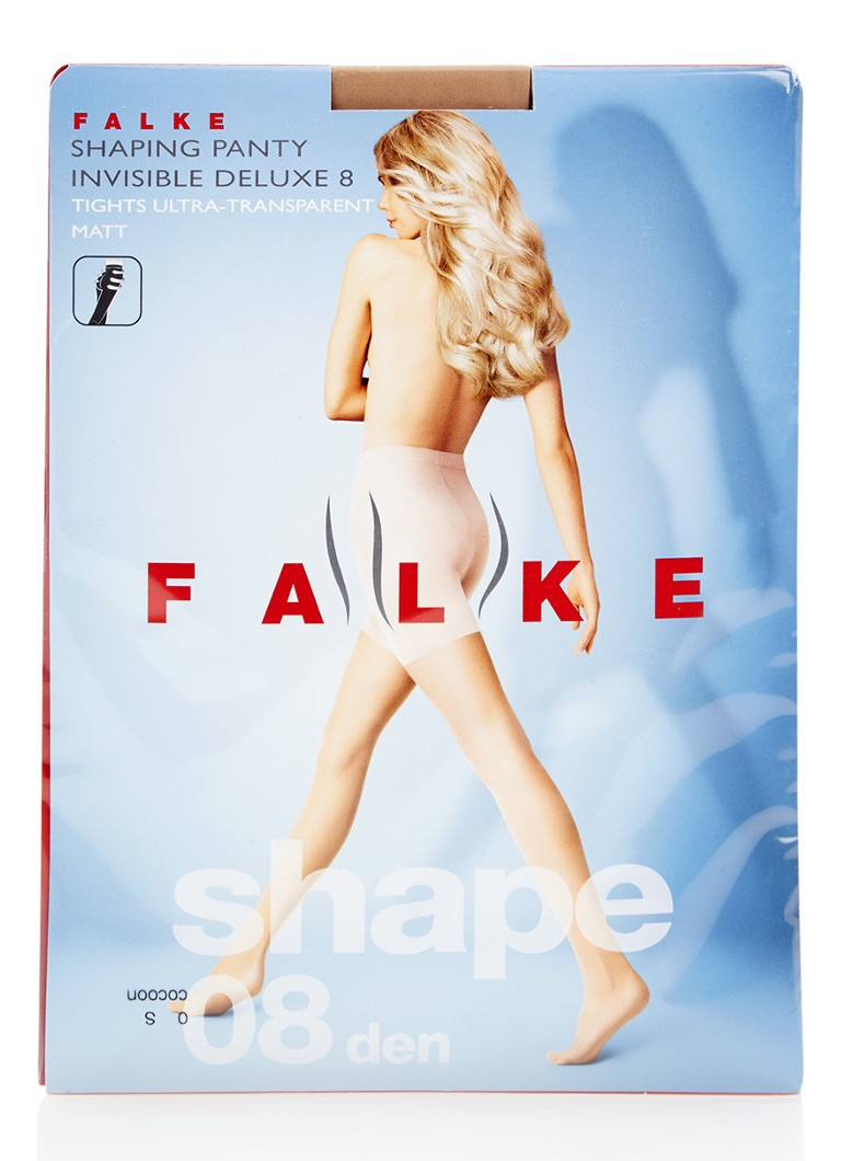Falke - Invisible Shapping panty in 8 denier cocoon - Naturel