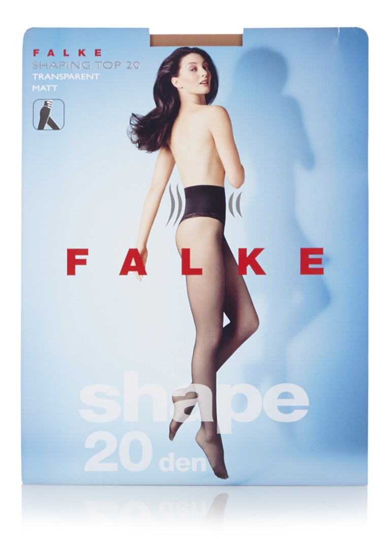 Falke - Shaping Top panty mat in 20 denier cocoon - Naturel