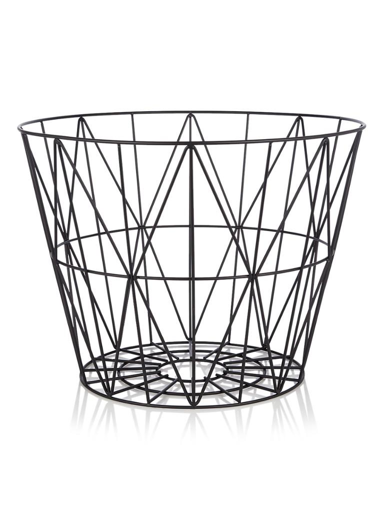 ferm living wire large basket 60 cm de bijenkorf. Black Bedroom Furniture Sets. Home Design Ideas