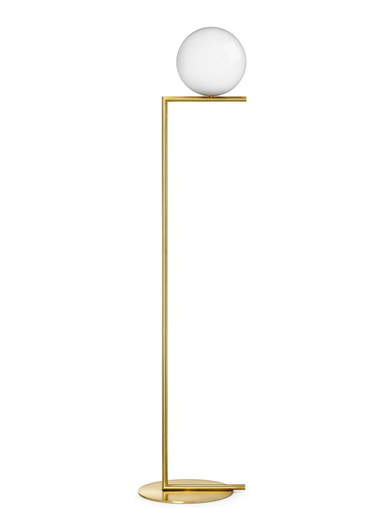 Flos - IC Lights F1 vloerlamp - Messing