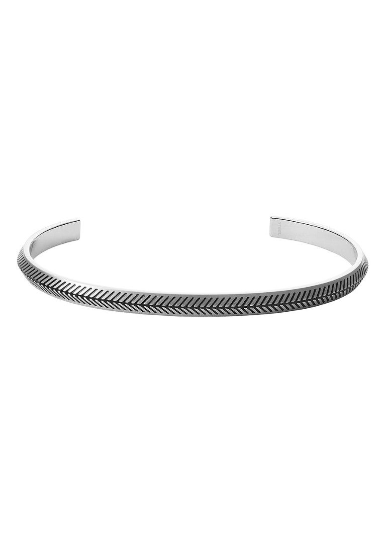 Fossil - Bangle JF03627040 - Zilver