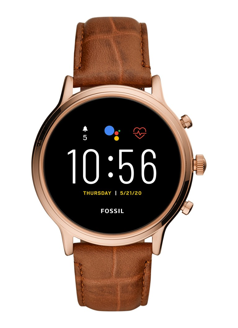 Fossil - Julianna Gen 5 Display smartwatch FTW6063 - Roségoud