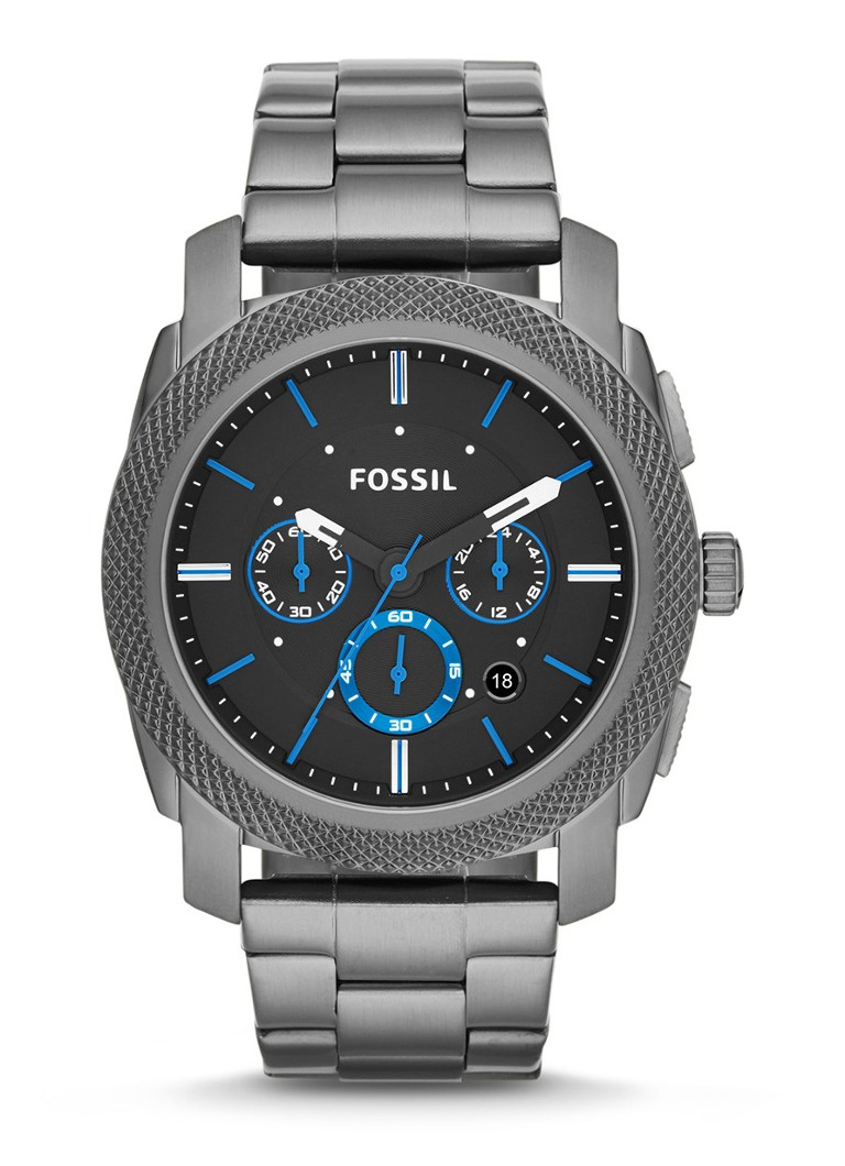 Fossil - Machine horloge FS4931 - Antraciet